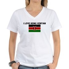 I LOVE BEING KENYAN Shirt