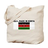 100 PERCENT MADE IN KENYA Tote Bag