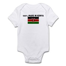 100 PERCENT MADE IN KENYA Infant Bodysuit