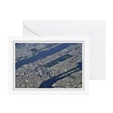 Aerial Midtown Greeting Cards (Pk of 10)