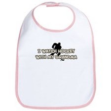 Pittsburgh Hockey Grandma Bib