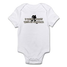 Pittsburgh Hockey Grandma Infant Bodysuit