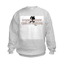 St. Louis Hockey Grandpa Sweatshirt