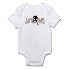 St. Louis Hockey Grandpa Infant Bodysuit