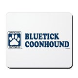 BLUETICK COONHOUND Mousepad