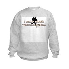 St. Louis Hockey Grandma Sweatshirt