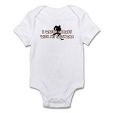 St. Louis Hockey Grandma Infant Bodysuit