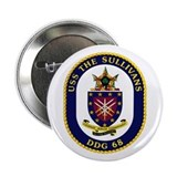 "USS The Sullivans DDG 68 2.25"" Button (10 pack)"
