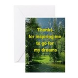 Cute You inspire me Greeting Cards (Pk of 20)