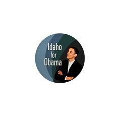 Idaho for Obama Little Campaign Pin
