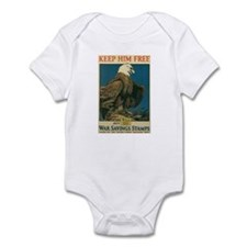 Keep Him Free Infant Bodysuit
