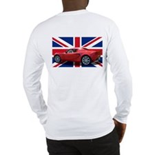 """Chili Red Elise UK"" Long Sleeve T-Shirt"