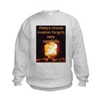 Be Careful Kids Sweatshirt
