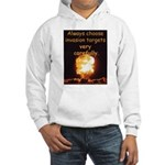 Be Careful Hooded Sweatshirt