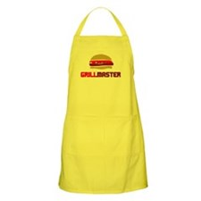 Funny Grillmaster Hamburger BBQ Apron For Men