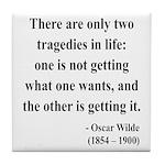 Oscar Wilde 23 Tile Coaster