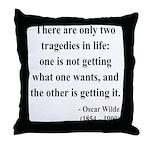 Oscar Wilde 23 Throw Pillow