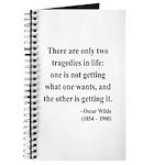 Oscar Wilde 23 Journal