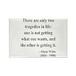 Oscar Wilde 23 Rectangle Magnet (100 pack)