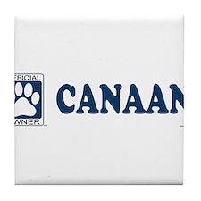CANAAN Tile Coaster