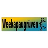 Weekapaugruven Bumper Bumper Sticker