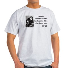 Oscar Wilde 28 Light T-Shirt