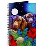 Vizsla Hungarian Pointer Moon Garden Journal