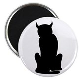 bad cat 2.25&quot; Magnet (10 pack)