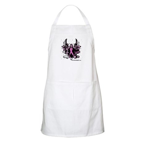 Tough Girl Breast Cancer BBQ Apron