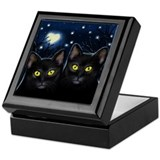 Black Cats Love Keepsake Box