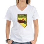 Nevada Ranger Women's V-Neck T-Shirt