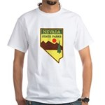 Nevada Ranger White T-Shirt