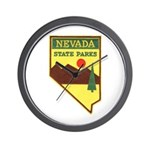 Nevada Ranger Wall Clock