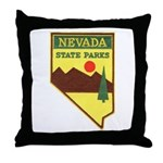 Nevada Ranger Throw Pillow