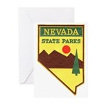 Nevada Ranger Greeting Cards (Pk of 20)
