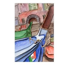 flag of italy Postcards (Package of 8)