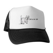 Westie Talk to the Tail Trucker Hat