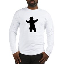 Growling Grizzly Bear Long Sleeve T-Shirt