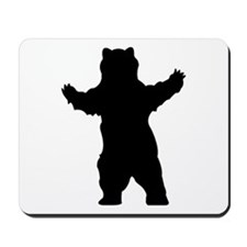 Growling Grizzly Bear Mousepad
