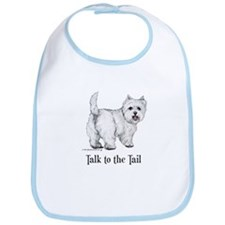 Westie Talk to the Tail Bib