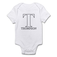 White T for Thompson Infant Bodysuit