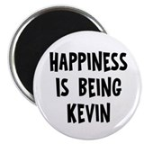 "Happiness is being Kevin 2.25"" Magnet (10 pack)"
