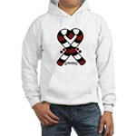 Candycanes Hooded Sweatshirt