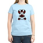 Candycanes Women's Light T-Shirt