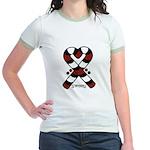 Candycanes Jr. Ringer T-Shirt