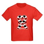 Candycanes Kids Dark T-Shirt
