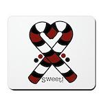 Candycanes Mousepad