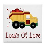 Loads of Love Tile Coaster