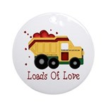 Loads of Love Ornament (Round)
