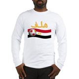 TEAM EGYPT ARABIC GOAL Long Sleeve T-Shirt